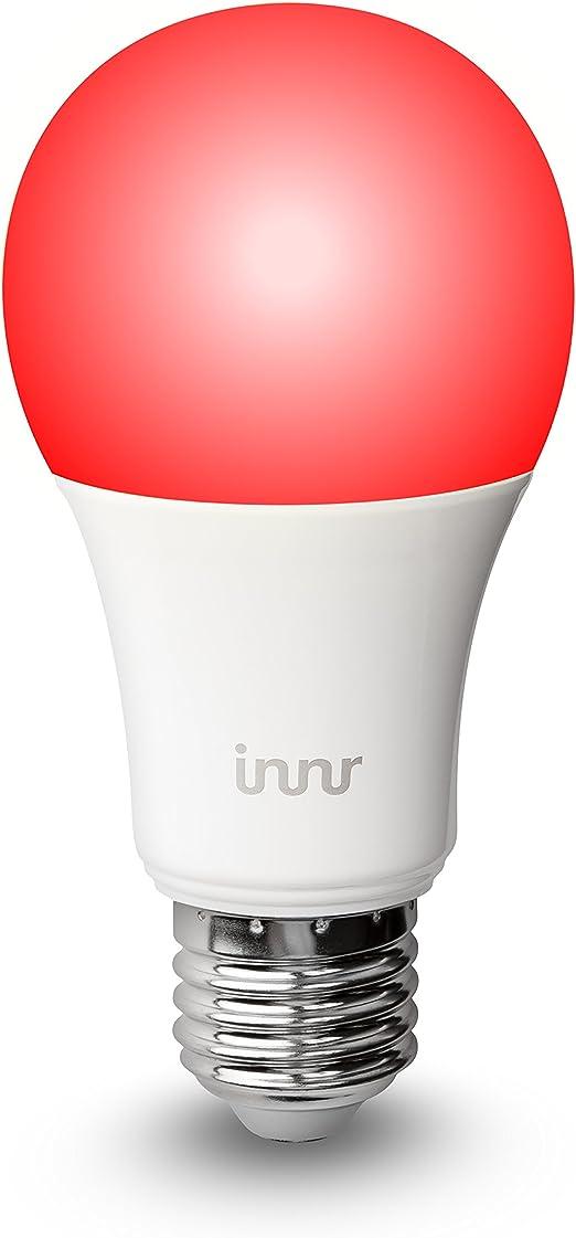 Innr Bombilla LED E27 conectada, color, RGBW (controlable vía ...