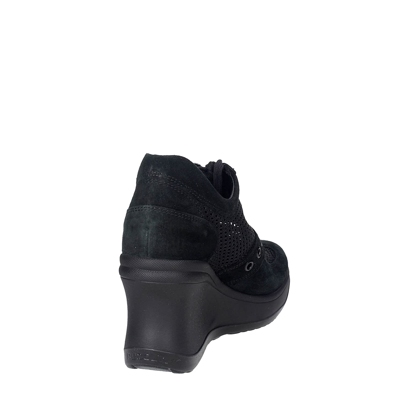 Agile By Damen Rucoline 1800(A11) Hoch Sneakers Damen By Schwarz 1a5952