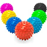 Massageball »Nica« (6cm Durchmesser) in vielen Farben zur Selbstmassage von Triggerpunkten. Idealer Lacrosse Ball / Massagerolle zur punktuellen Behandlung von Verspannung & Verhärtungen ähnlich dem Faszientraining (Faszienrolle)