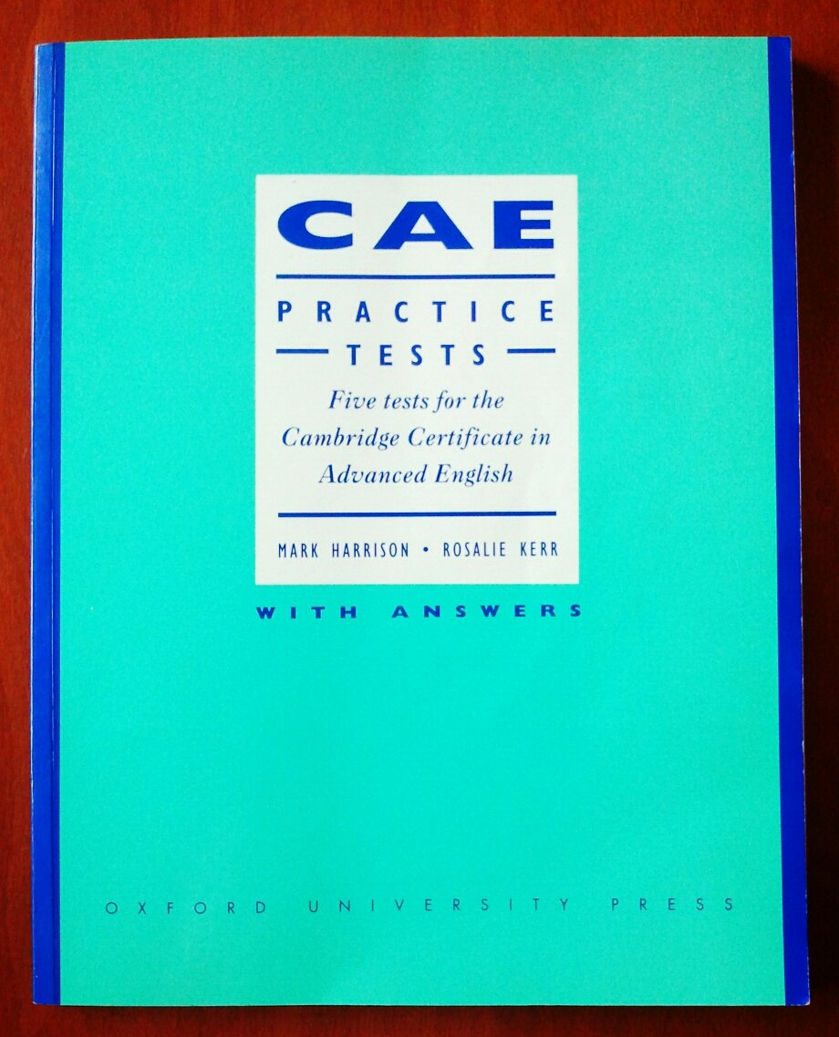 C.A.E. Practice Tests: with key: Amazon.co.uk: Mark Harrison ...