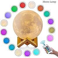 Lámpara de luna en 3D, ALED LIGHT Luna