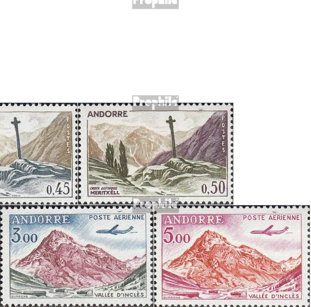 Prophila Collection Andorra - Französische Post 168-177 (kompl.Ausg.) 1961 Landschaften (Briefmarken für Sammler) Landschaften