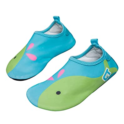 b8b45c24859 norocos Boys Lightweight Water Shoes Soft Barefoot Shoes Quick-Dry Aqua  Socks for Girls Swimming