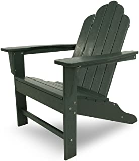 "product image for POLYWOOD ECA15GR Long Island Adirondack Chair, Height: 38.50"" - Width: 31.25"" - Depth: 33.75"", Green"