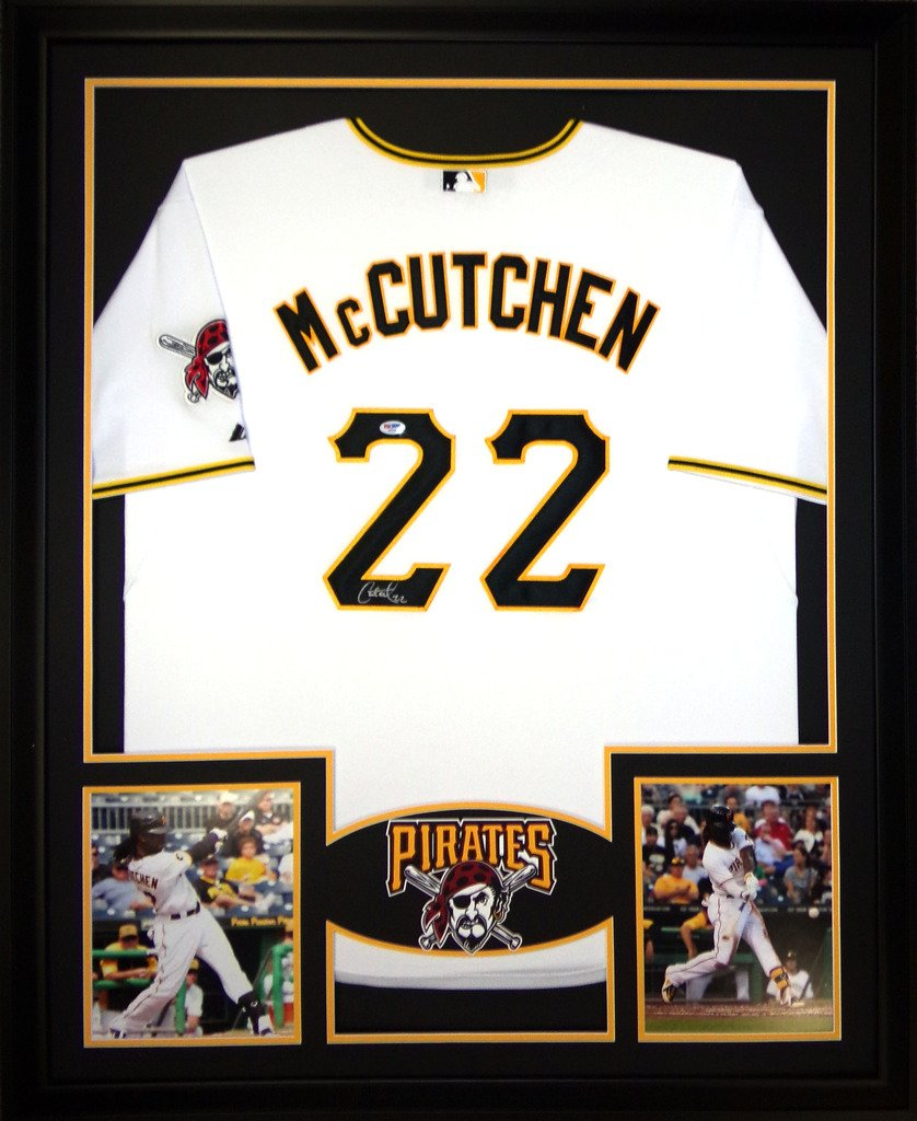 online store 8ffc6 c8905 Andrew McCutchen Pittsburgh Pirates Signed Autograph Custom ...
