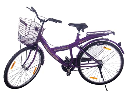 Leader Steel Women\'s Bicycle, 9 Inches (Purple, JFI KATRINA 20 ...
