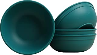 "product image for Re Play Made in USA Set of 4-5.75"" Teal Dining Bowls