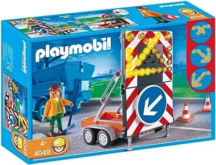 Amazon.com: Playmobil LED Señal en remolque Set de ...