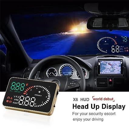 AUDEW 3-Navegador GPS pantalla de visualización frontal HUD ...