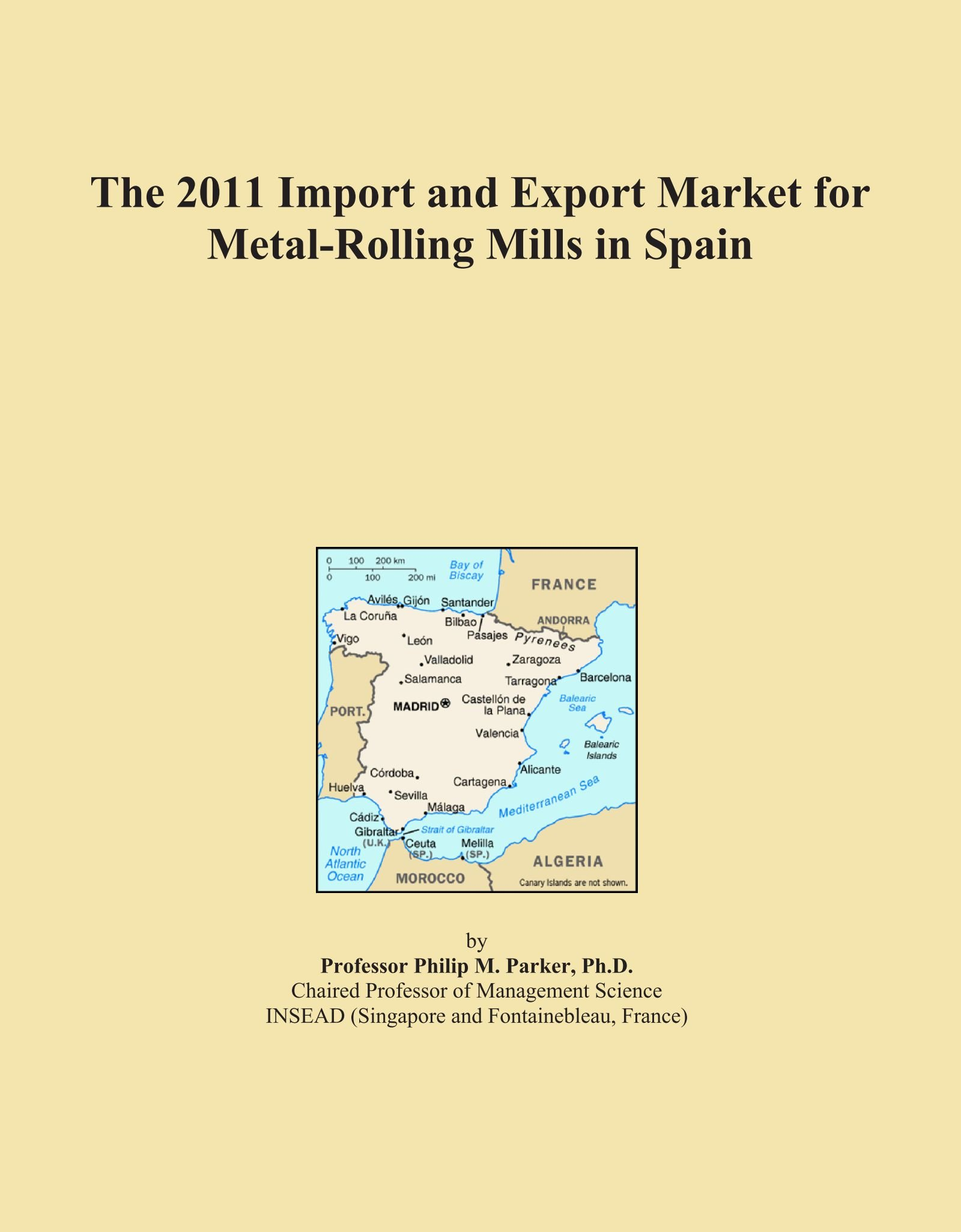 The 2011 Import and Export Market for Metal-Rolling Mills in Spain pdf
