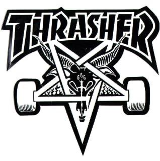 Skating skateboarding sk8 skate board punk Thrasher Magazine Skateboard Sticker