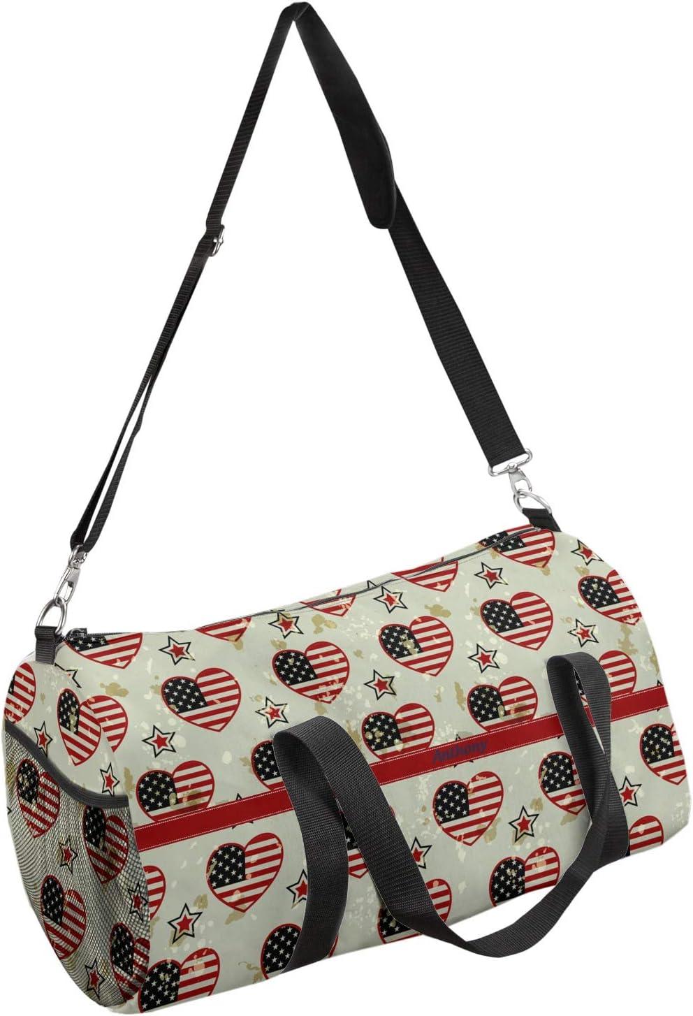 Personalized YouCustomizeIt Americana Duffel Bag