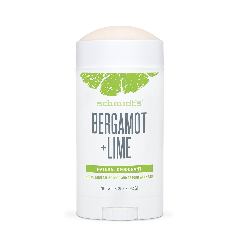 Schmidt's Deodorant Stick, Bergamot + Lime