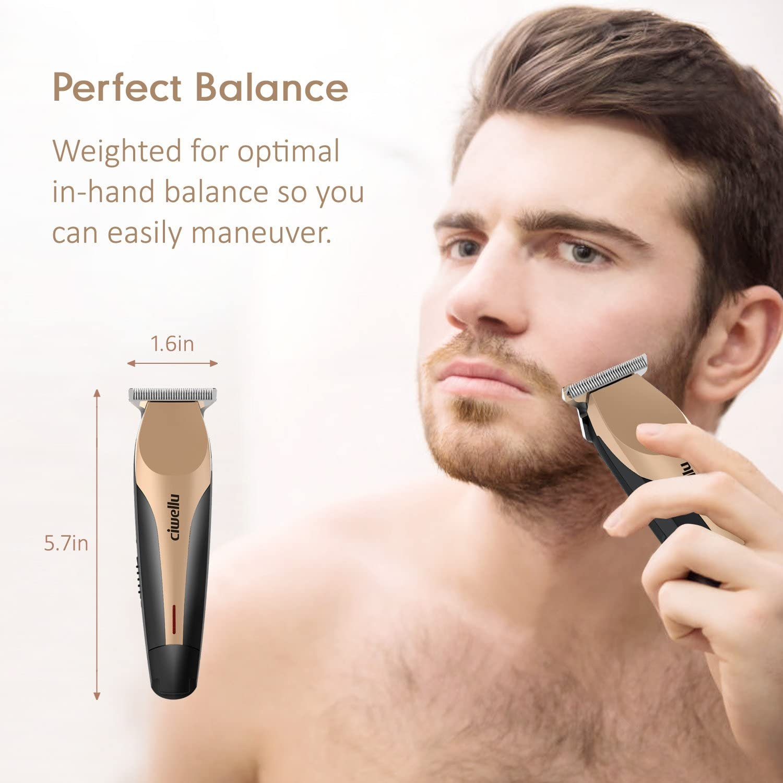 Electrico Recortador de Barba Afeitadora Electrica Hombre con 4 ...