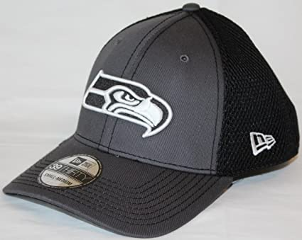 Image Unavailable. Image not available for. Color  New Era Seattle Seahawks NFL  39THIRTY Gray   Black Neo Flex Fit Hat faf2c3d0c