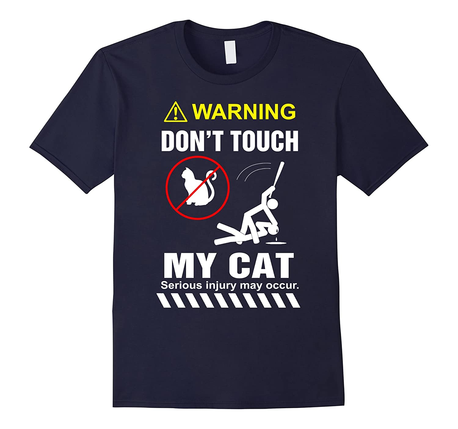 Cat Lover shirt -Don't Touch My Cat shirts-Art