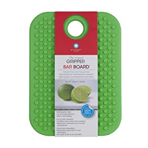 "Architec GBBGLG7 Original Non-Slip Gripper Cutting Board, 5"" x 7"", Green"