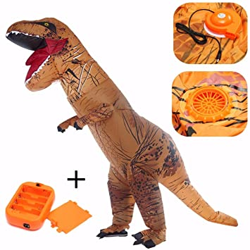 About Beauty T-Rex Dinosaurio Traje Inflable Halloween ...