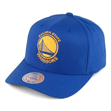 7fc1ad69 Mitchell & Ness Golden State Warriors 110 Snapback Cap - Team Logo High  Crown - Royal