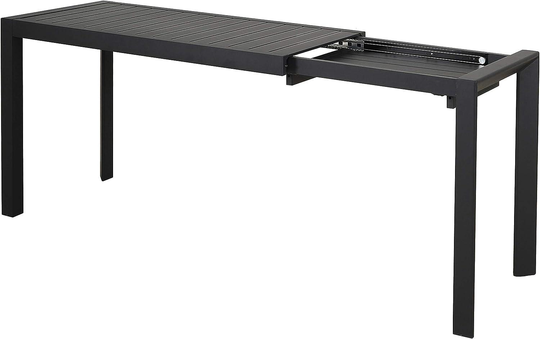Chicreat - Mesa extensible de aluminio, 127-165 x 57 x 71, 5 cm ...