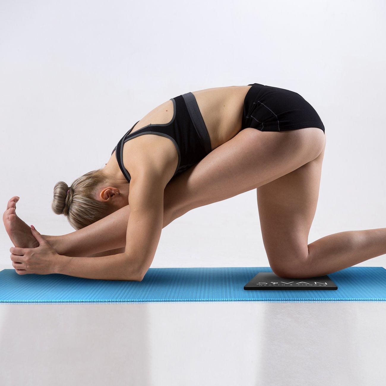 Amazon.com: Sivan Salud y Fitness Yoga Rodillera Almohadilla ...
