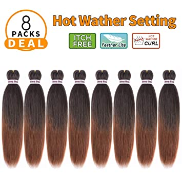 Hair Braids Jumbo Braids Synthetic Pre Stretched Braiding Hair Kanekalon Crochet Braids False Hair Extensions Jumbo Braiding For Women 22 Inch Yaki Black To Reduce Body Weight And Prolong Life