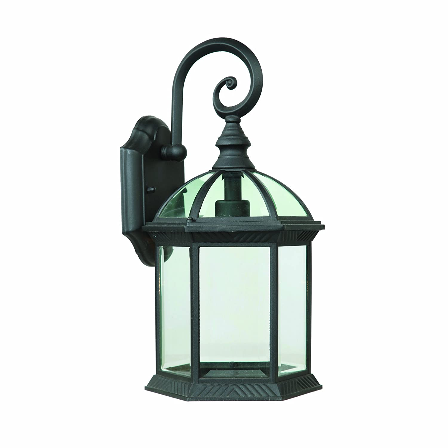 Yosemite Home Decor 5271BL 1 Light Exterior with Clear Beveled Glass ...