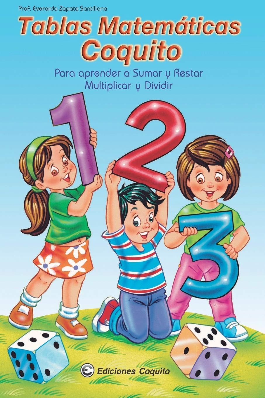 Libro: Tablas Matemáticas Coquito (Spanish Edition)