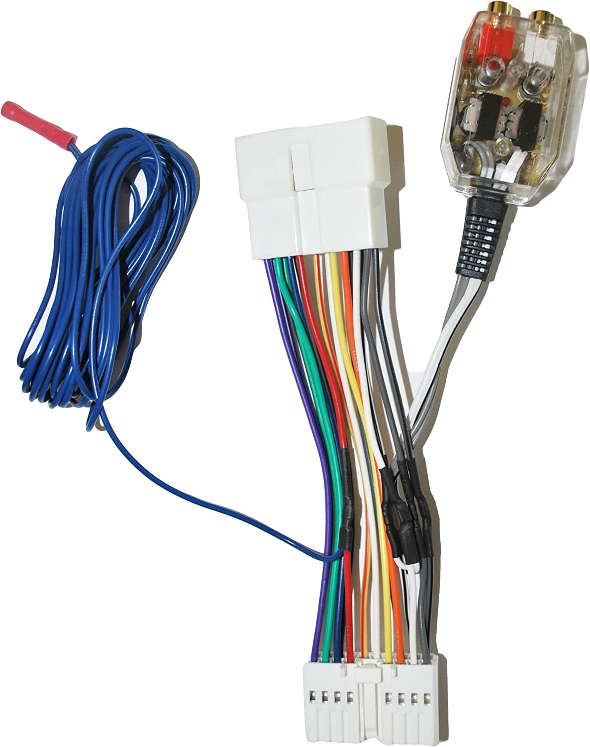 acura tl amp wiring amazon com factory radio add a amp amplifier sub interface wire  factory radio add a amp amplifier sub