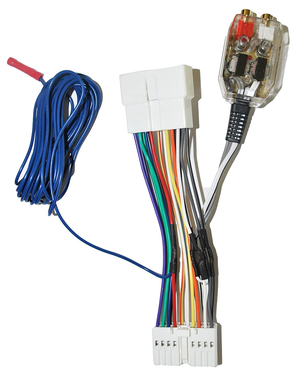 Factory Radio Add A Amp Amplifier Sub Interface Wire 2003 Acura Cl Wiring Speaker Harness Inline Converter Fits Honda Isuzu Car Electronics