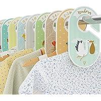 Bebé separadores – 18 – Percha Armario organizadores – Organizar ropa por la ropa Tipo O edad – perfecto Bebé Ducha Set…
