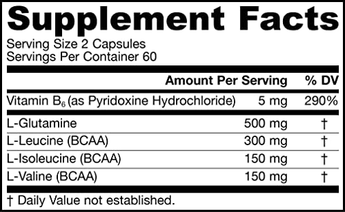 Jarrow Formulas BCAA Branched Chain Amino Acid Complex, Promotes Sports Nutrition and Post-Workout Recovery*, 120 Caps