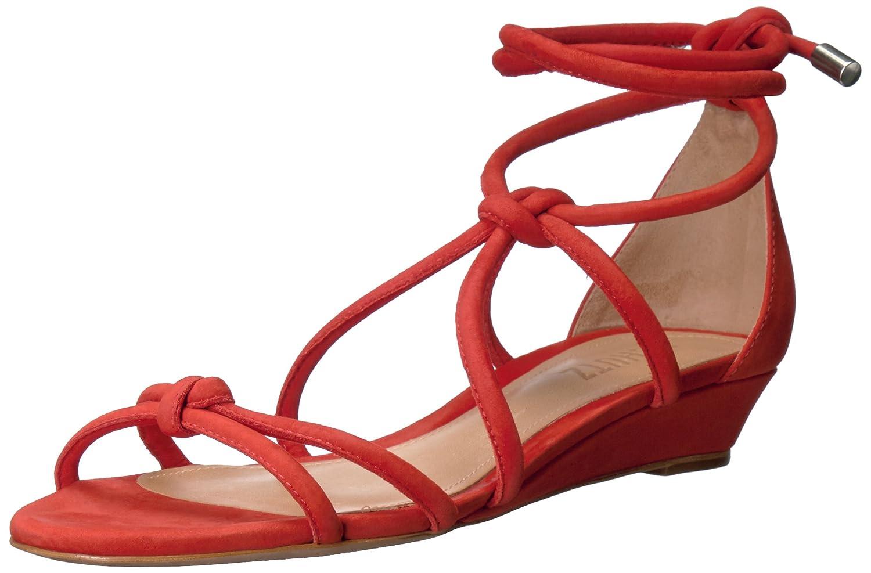 SCHUTZ Women's Margarete Flat Sandal B01MCWEHUL 8.5 B(M) US|Nice Orange
