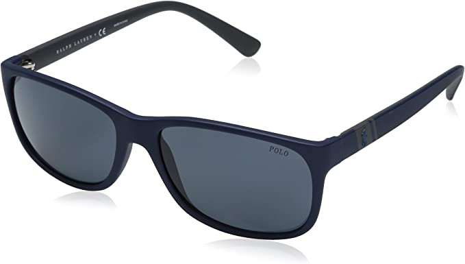 Ralph Lauren POLO 0PH4109 Gafas de sol, Matte Blue, 59 para Hombre ...