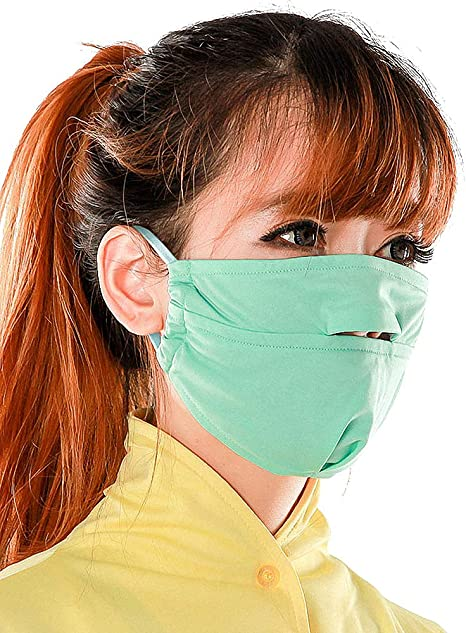 masque bouche pollution