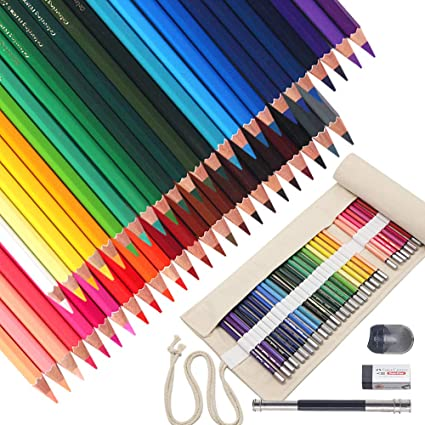 52 Pack Lápices de Colores (48 Unidades) Lapicero para Colorear ...
