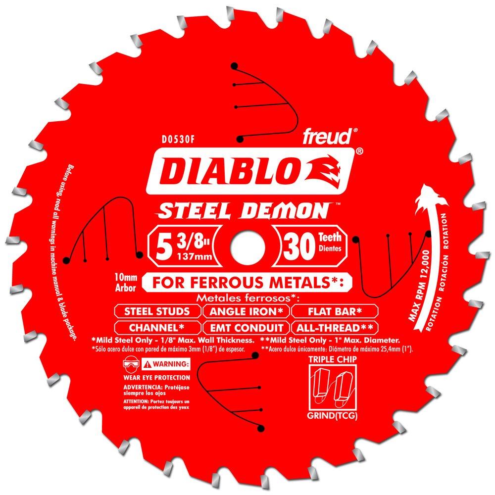 Disco Sierra Diablo Por Freud D0530f Ø137 30D E10 Metales