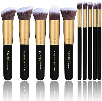 Amazon.com: BS-MALL(TM) Makeup Brushes Premium Makeup Brush Set ...