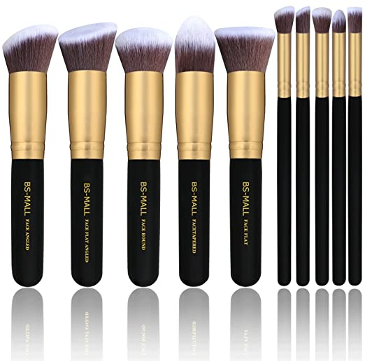 10-Piece Premium Makeup Brush.
