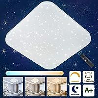 Oeegoo Lámpara de Techo LED Regulable con Control