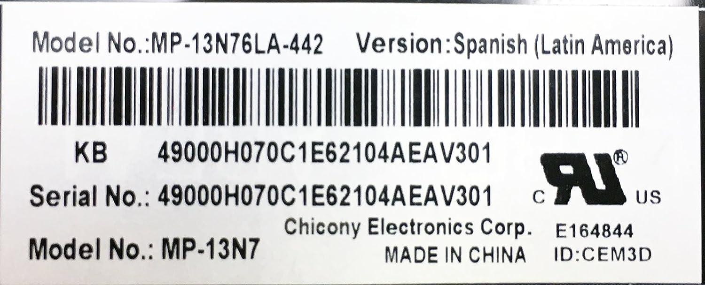 New Dell SPANISH LATIN Inspiron 3541 3542 3543 5547 5548 Teclado Espanol 71M2C