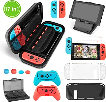 Younikoo Kit Accesorios para Nintendo Switch: Amazon.es: Electrónica
