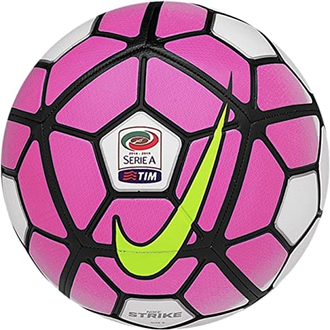 Nike Ball Strike Balón, Unisex, White/Hyprpk/Black/Flshlm, 4 ...