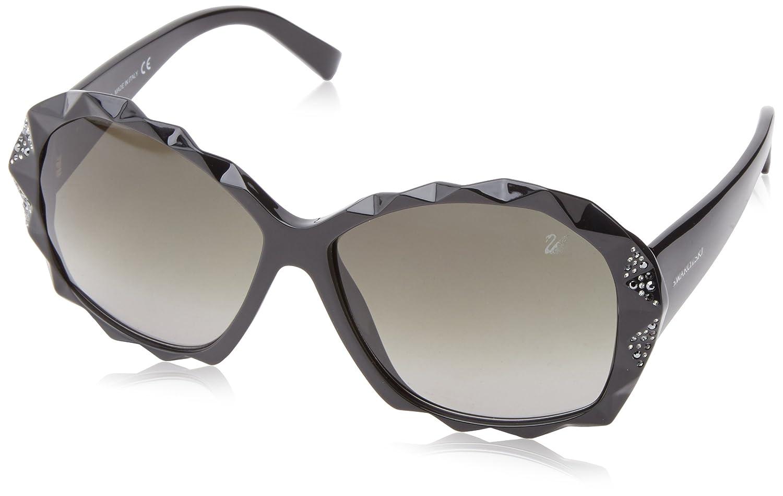 b7a4546e0471 Amazon.com  Swarovski Women s Charlie Round Sunglasses