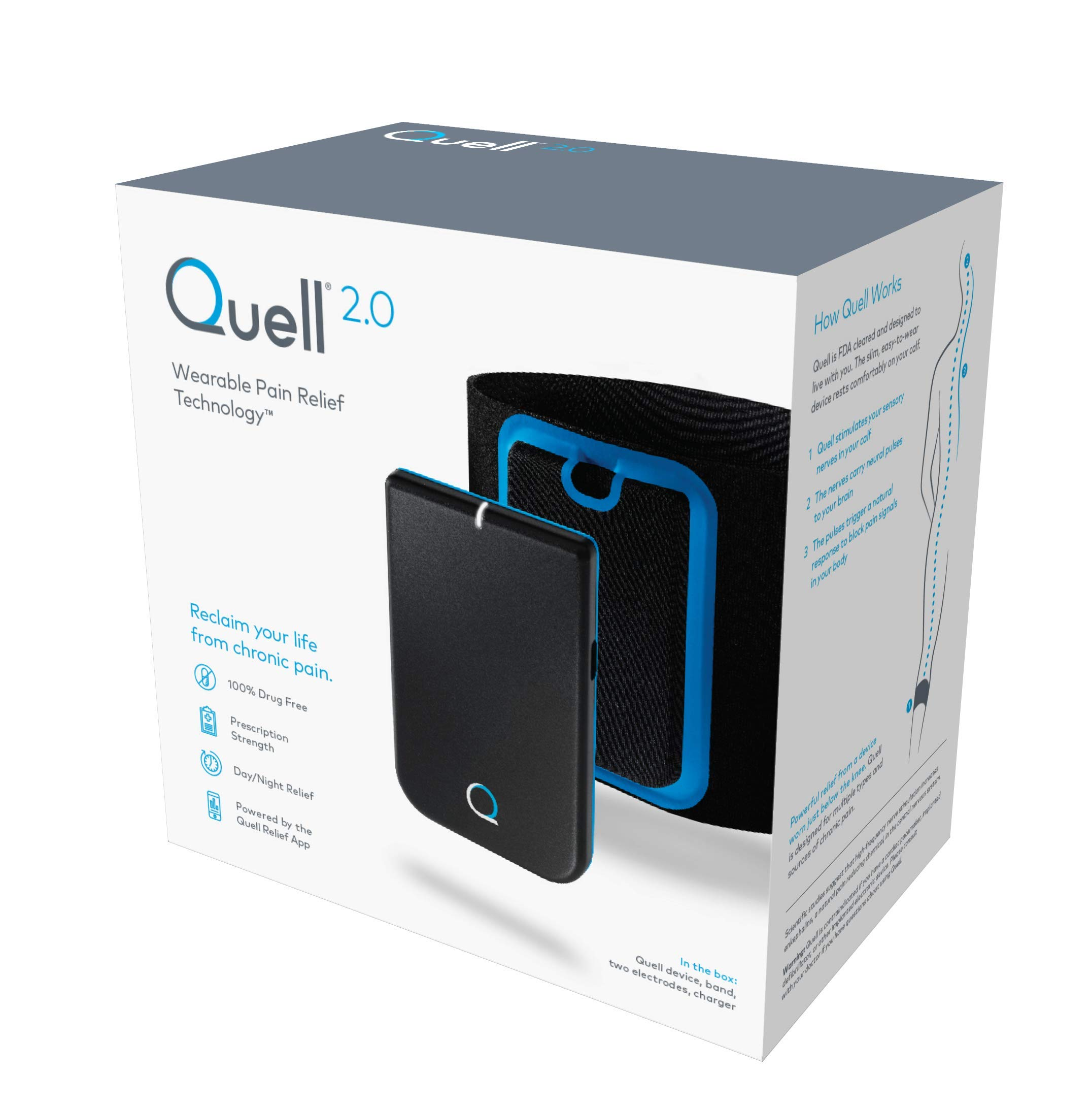 Quell 2.0 Wearable Pain Relief Technology by Quell