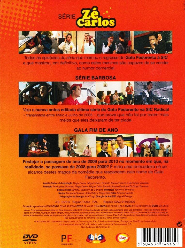 Gato Fedorento Ze Carlos - Ze Carlos - Series[5DVD] 2009 - Amazon.com Music
