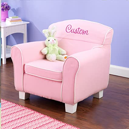 Incroyable Personalized Pink Toddler Chair With Slip Cover, CUSTOM