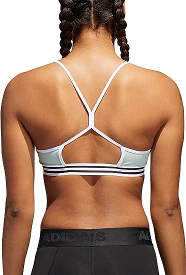 d2861d8668f66 Amazon.com  adidas Women s Training Crossback 3-Stripe Hem Sports ...