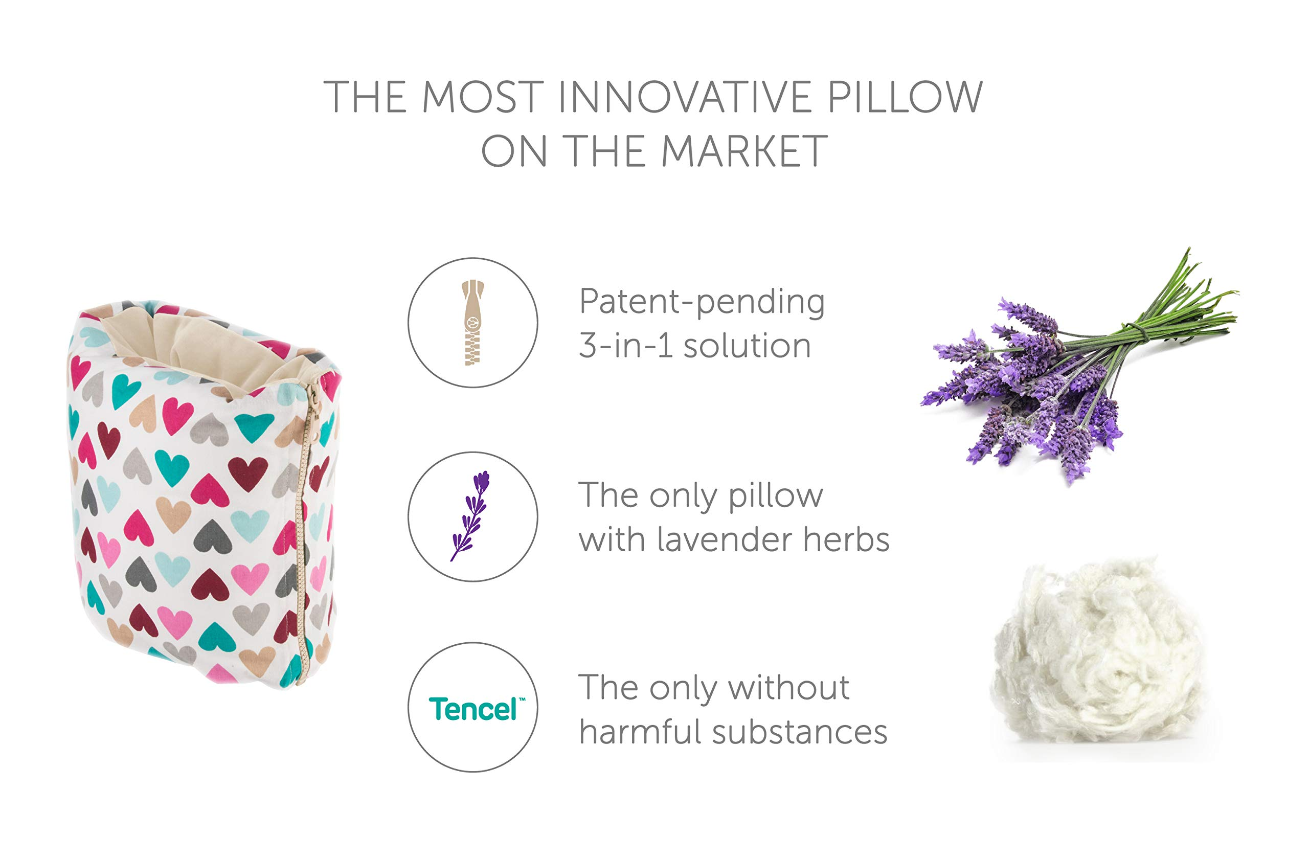 Benjamin Button - Arm Nursing, Breastfeeding Pillow and Positioner   Organic, Natural, Ergonomic Back Support Shape by Benjamin Button (Image #2)