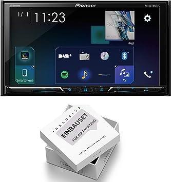 Pioneer AVH-Z5100DAB - Radio para Coche con Antena y Set de ...